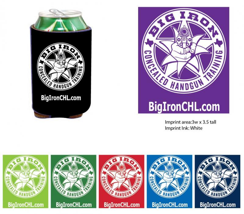 Big Iron Koozies