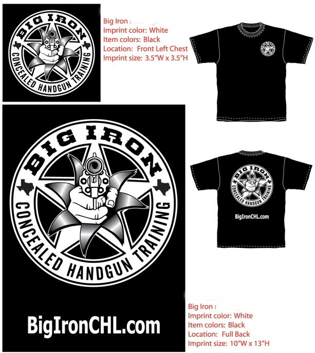 Big Iron T-Shirts